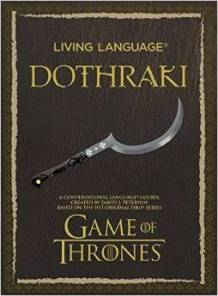 Living Language Dothrake
