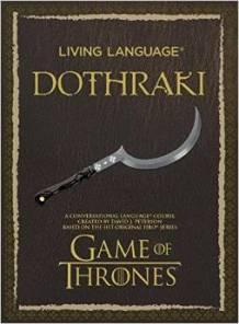 Living Language Dothrake